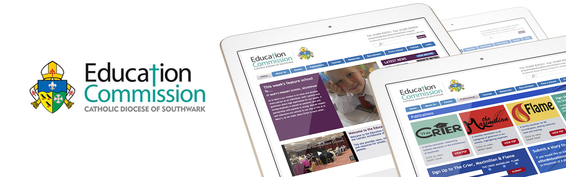 Education Commission Website Creation
