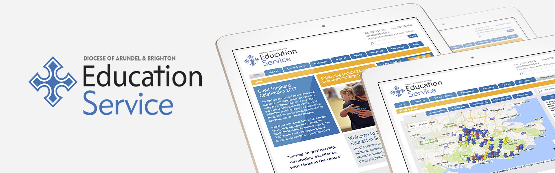 Education Service Website Creation