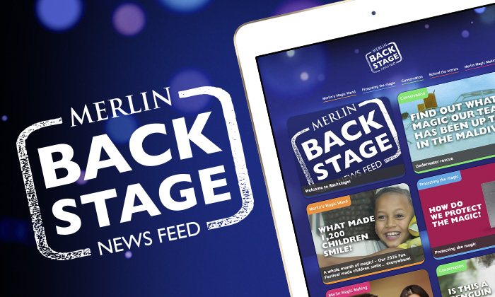 Merlin Backstage News Feed